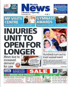 Burnham and Highbridge Weekly News: OUT NOW: Your Burnham and Highbridge Weekly News