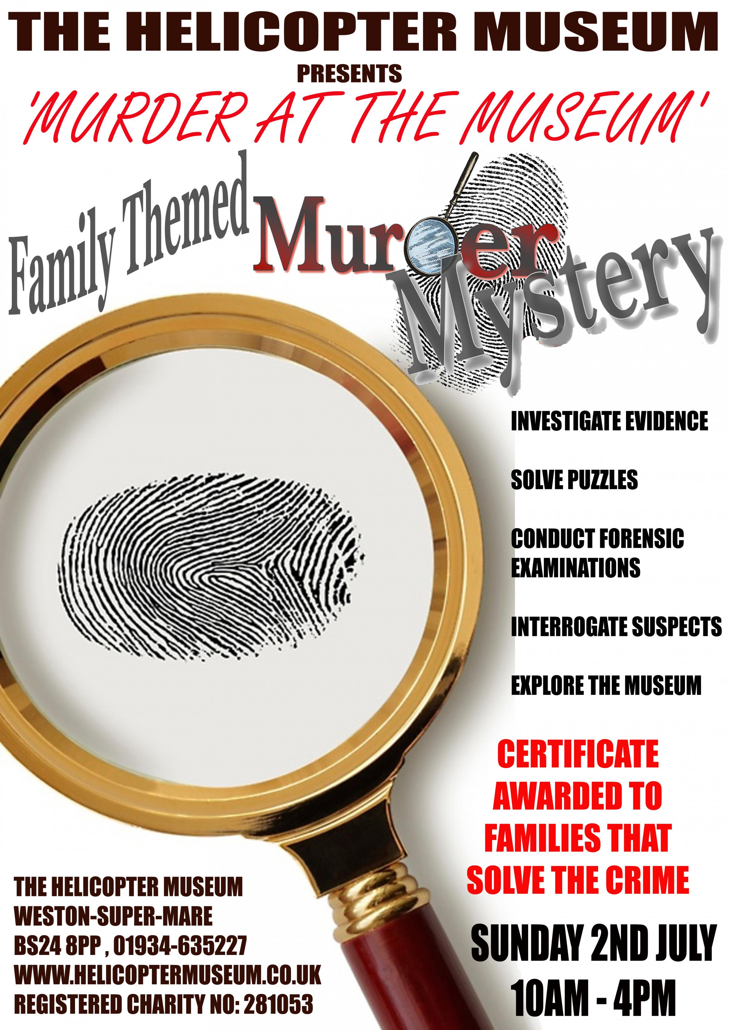 'Murder at the Museum' A Family Themed Mystery