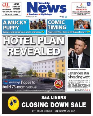 Burnham and Highbridge Weekly News: HOTEL PLAN REVEALED: Travelodge submits plan for 75-room development