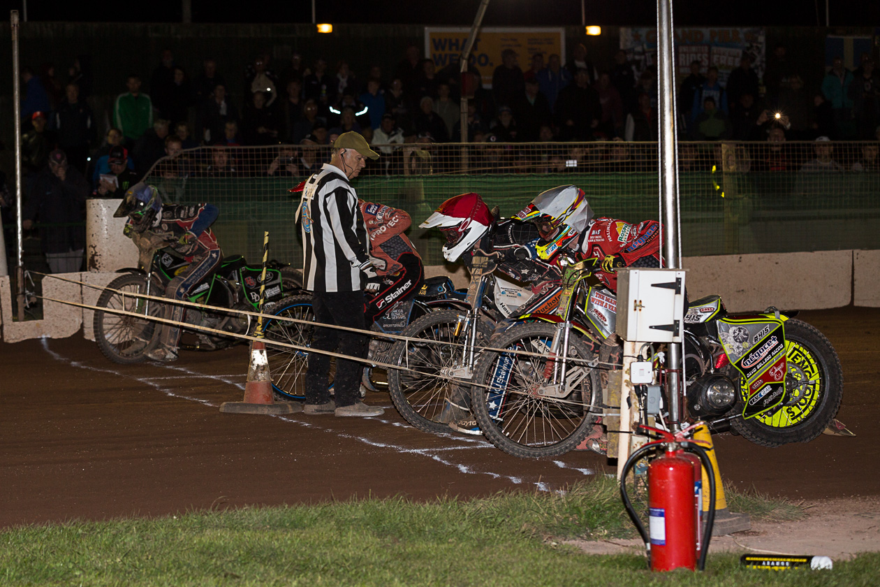 DEFEATED: The Somerset Rebels could not keep their winning run over Belle Vue going on Monday evening.