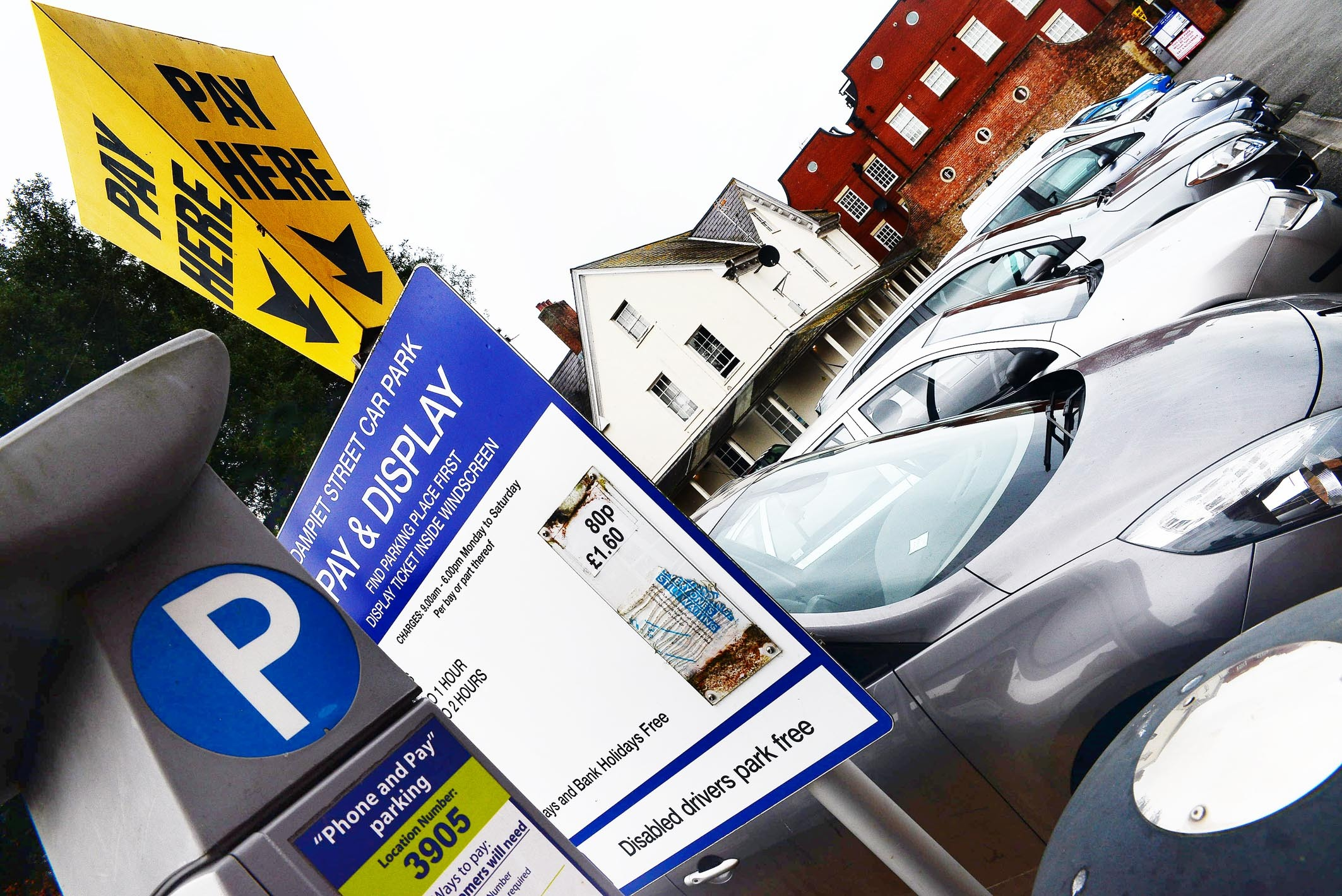 FREE: Parking will be free in all Sedgemoor District Council-run car parks