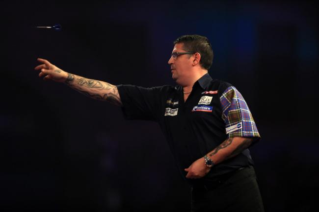 BEATEN: Gary Anderson lost out in Wolverhampton