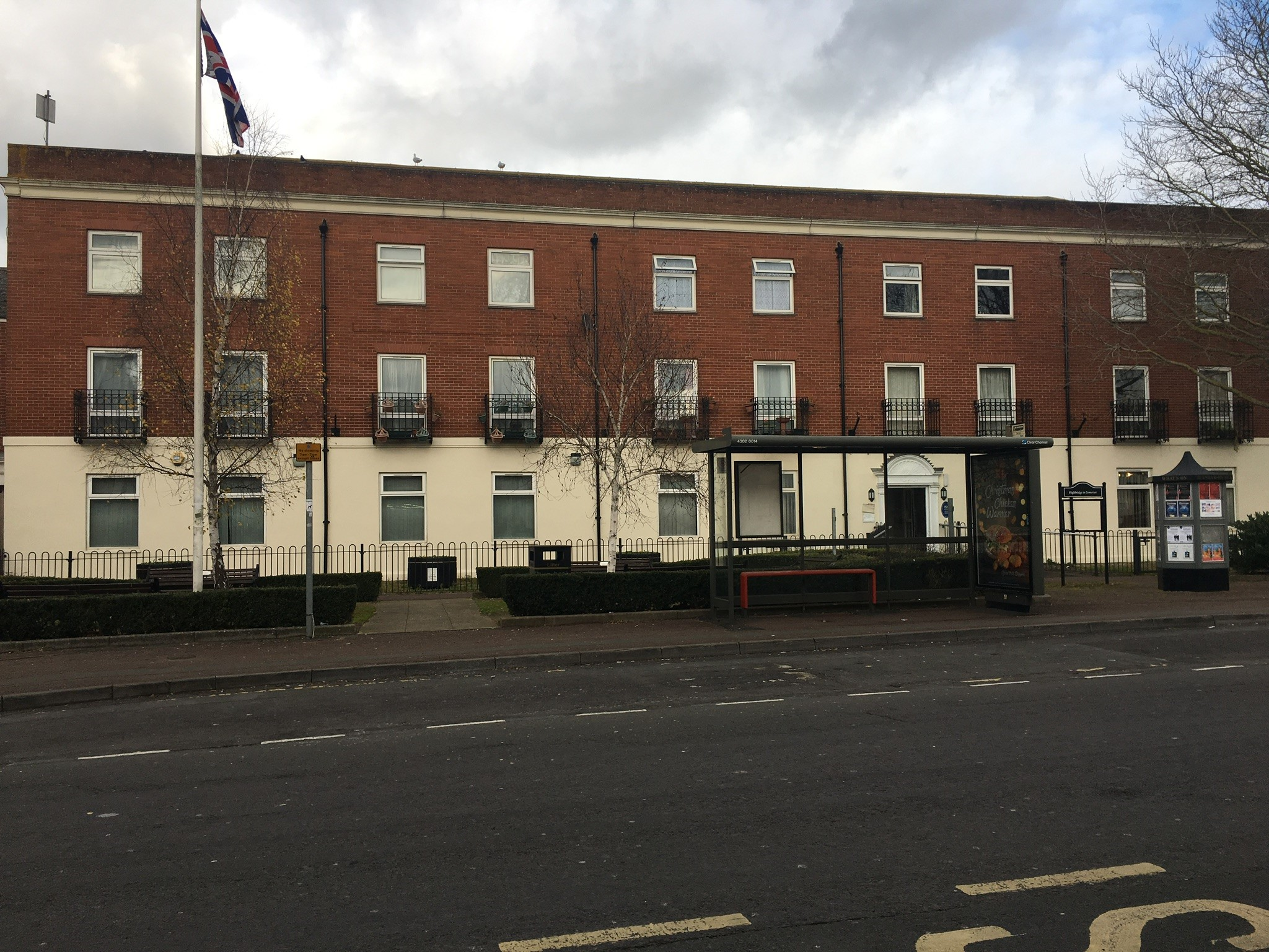Sedgemoor District Council has submitted plans to build five one-bedroom flats at the rear of Alpha House, in Market Street.