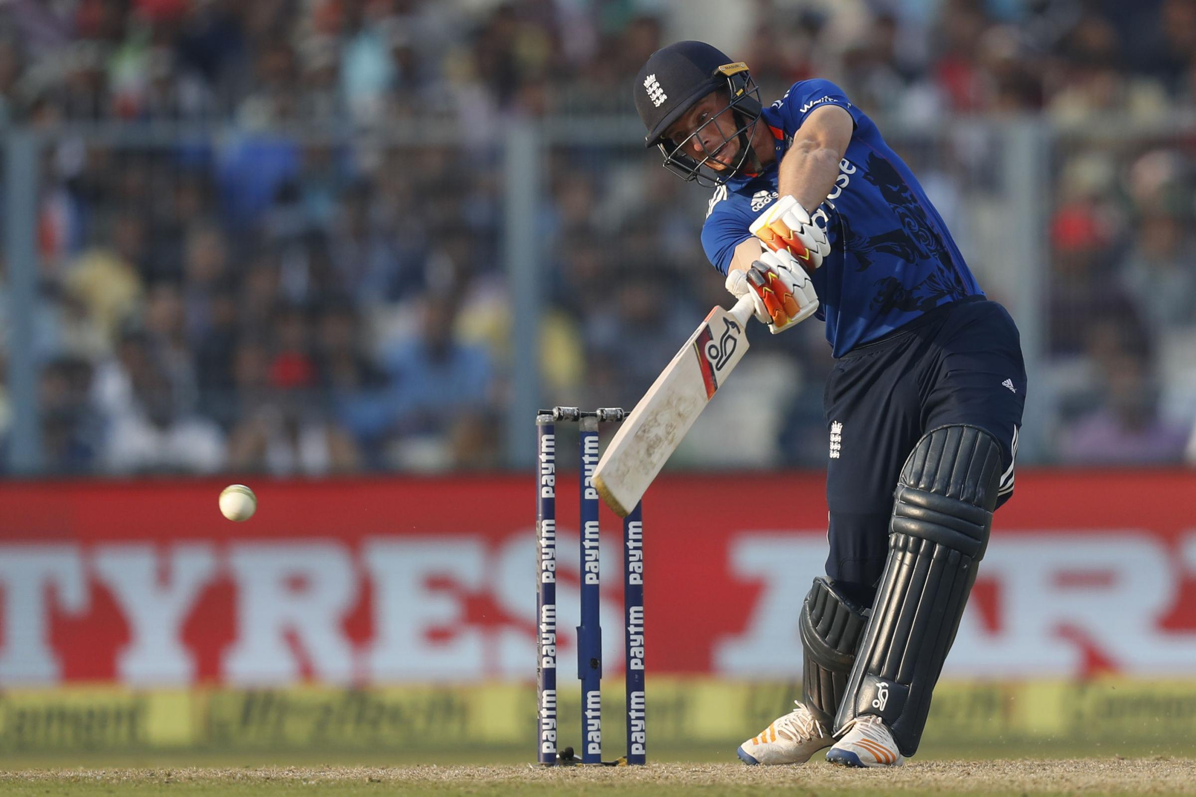 TON: Jos Buttler in action for England. Pic: PA Wire