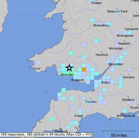 EARTHQUAKE DRAMA: Residents were shocked as earthquake hit Somerset