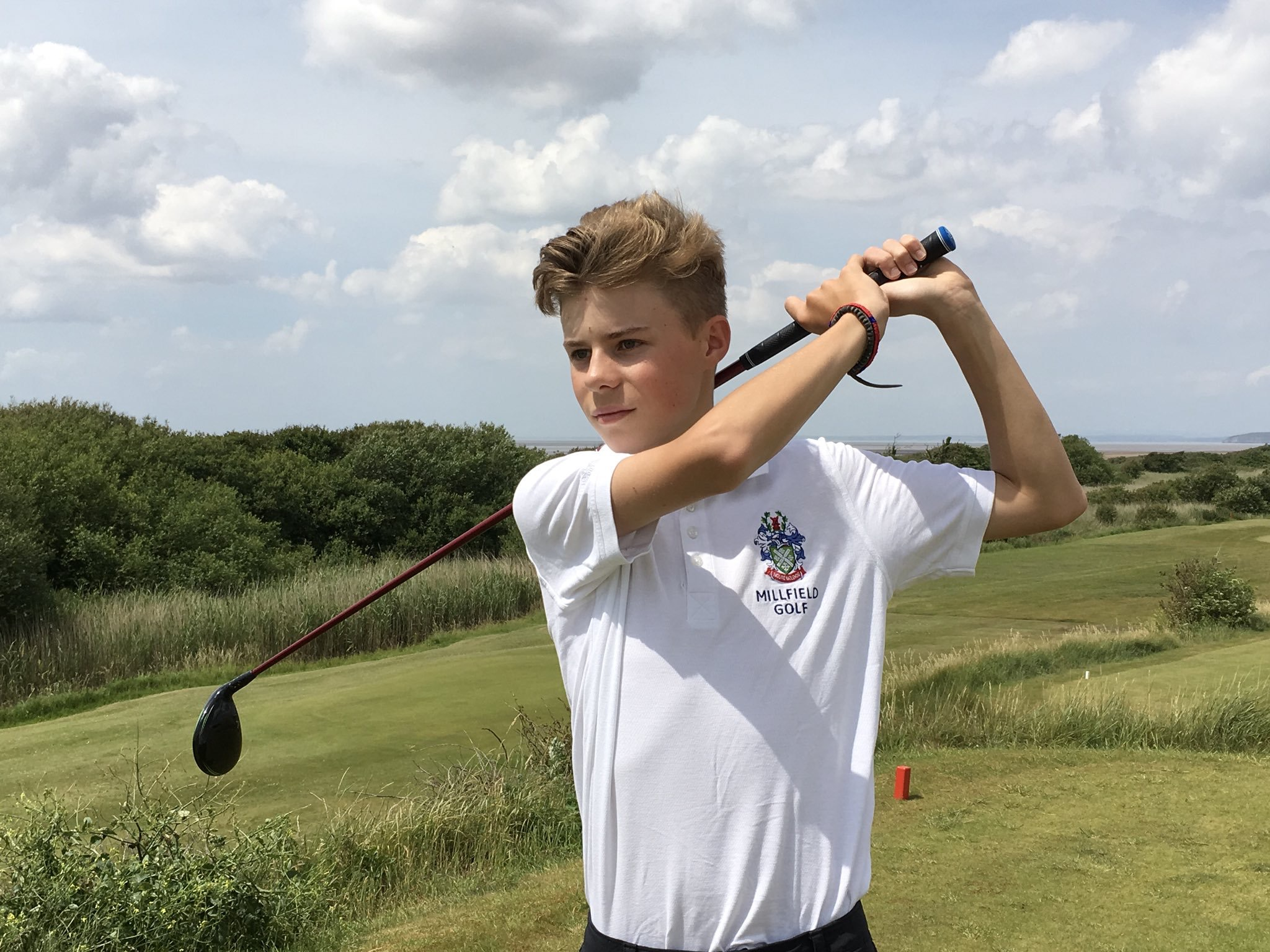 SKIPPER: Enmore Park Golf Club junior captain William O'Halloran.