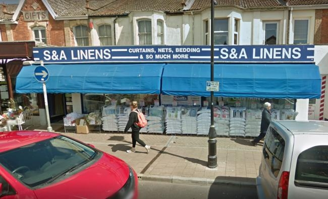 ASSAULT: A man suffered a head injury after he was assaulted outside the former S&A Linens store, pictured, on High Street in Burnham-on-sea