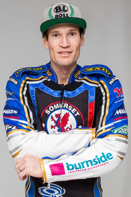 ESCAPE: Somerset Rebels captain Jason Doyle was fortunate to walk away from a final-heat incident. Pic: Colin Burnett/Somerset Speedway