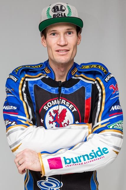 MAXIMUM: It was a perfect night for Jason Doyle - and Somerset Rebels. Pic: Colin Burnett
