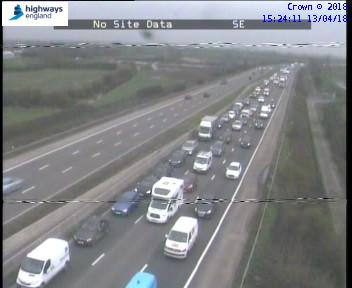 TRAFFIC: There are severe delays on the M5 northbound between Burnham-on-Sea and Weston-super-Mare following a crash