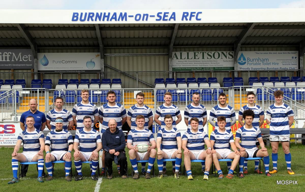 REBUILDING JOB: Burnham-on-Sea RFC's tough season has come to a close. Pic: Mo Hunt/Mospix