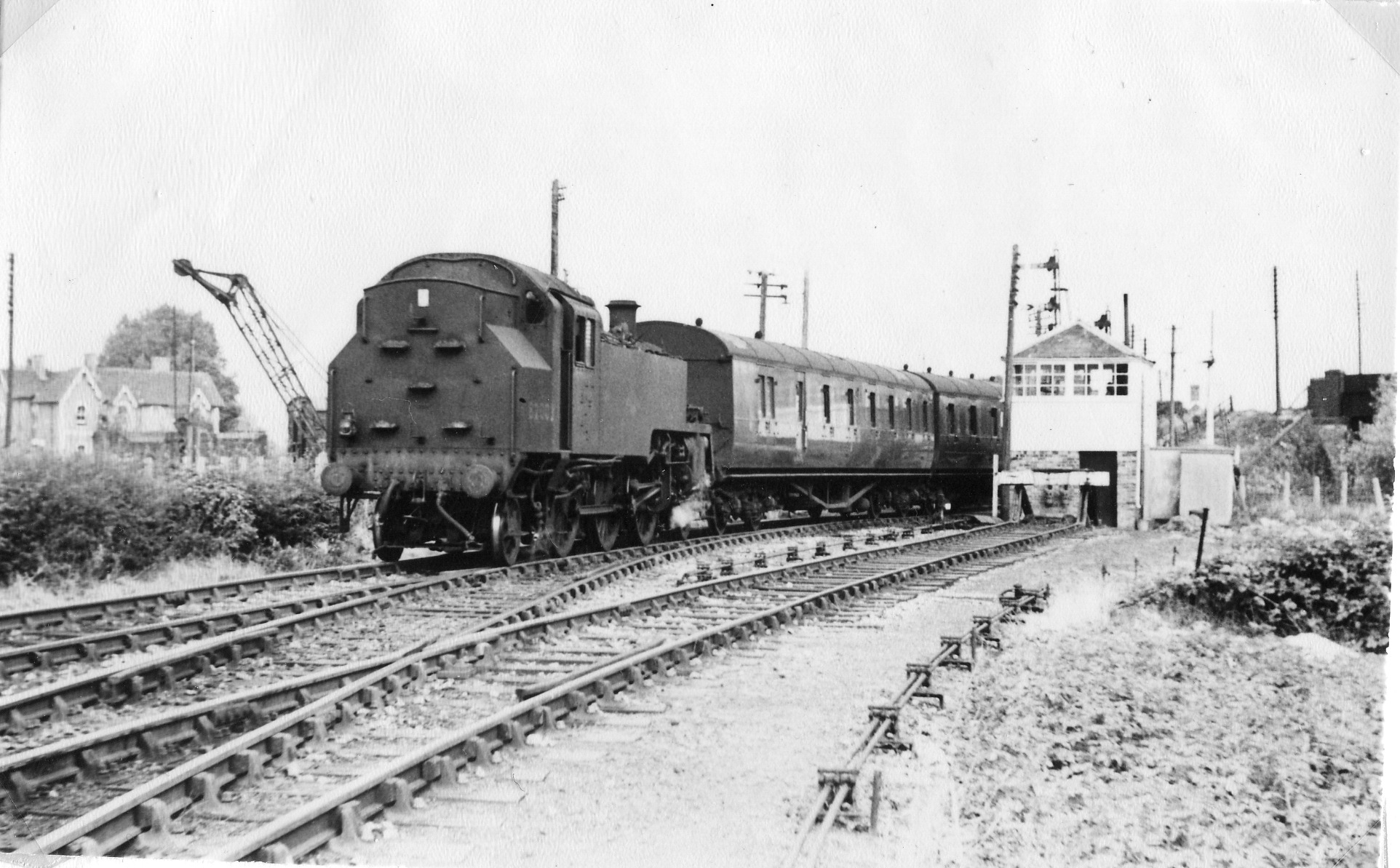 HISTORY: It is believed this was the starting point for Burnham-on-Sea railway