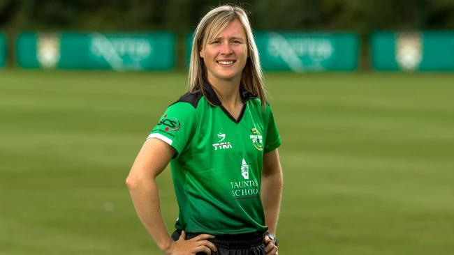 HONOURED: Somerset Women and Western Storm player Sophie Luff.