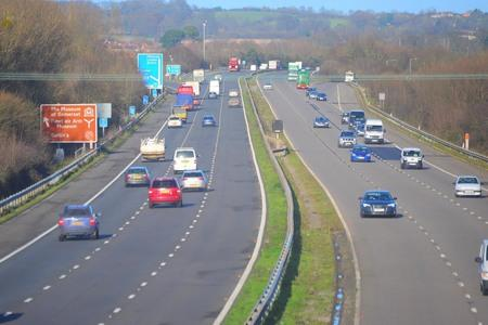 M5 re-opens after person tragically died yesterday afternoon