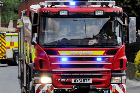 CALL OUT: Firefighters from Burnham-on-Sea were called to rescue a horse stuck in a ditch in East Huntspill