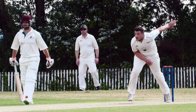 VICTORY: Huntspill & District enjoyed an away win on Saturday. Pic: Steve Richardson