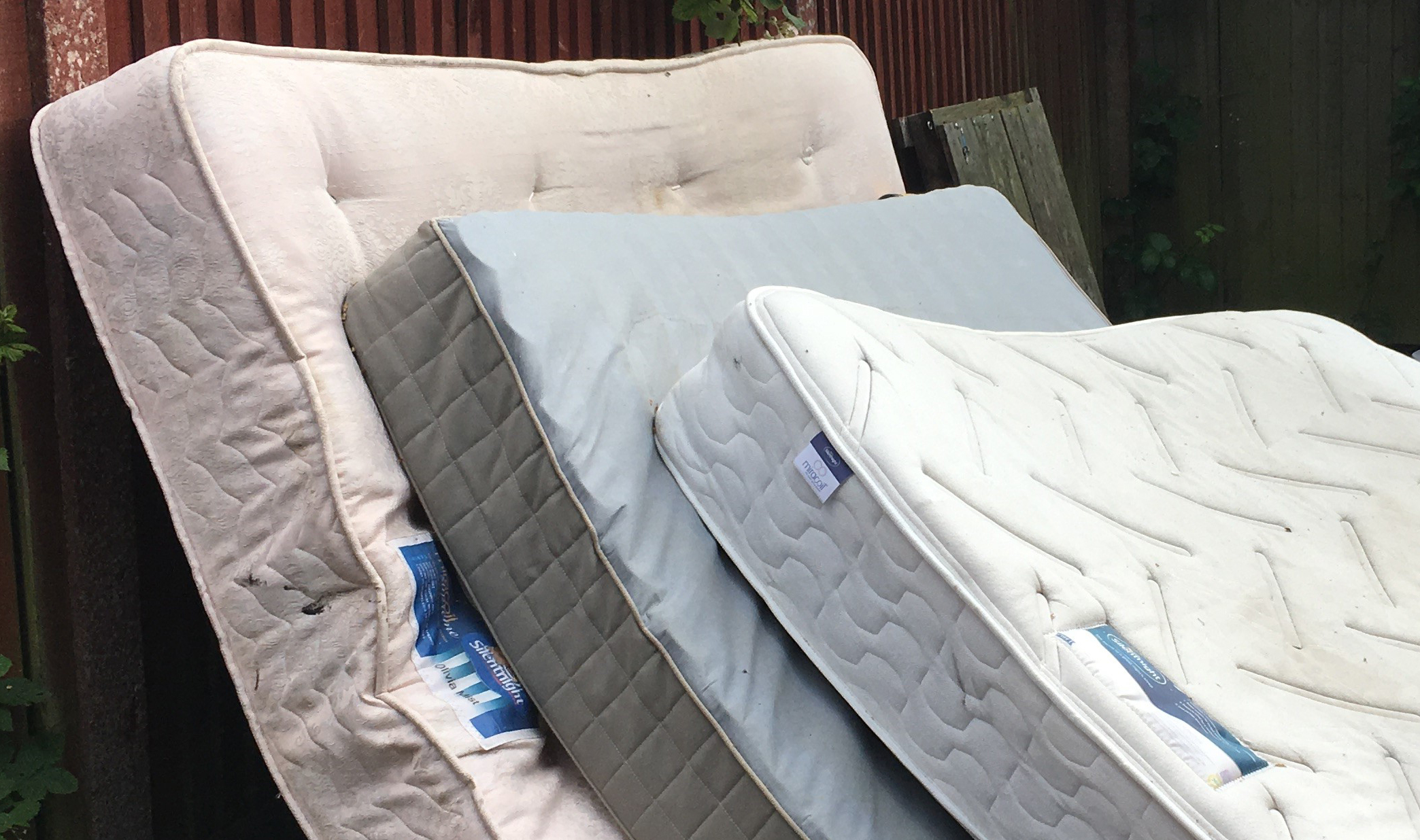 WARNING: Mattresses being sold from a vans in Somerset may not adhere to safety standards
