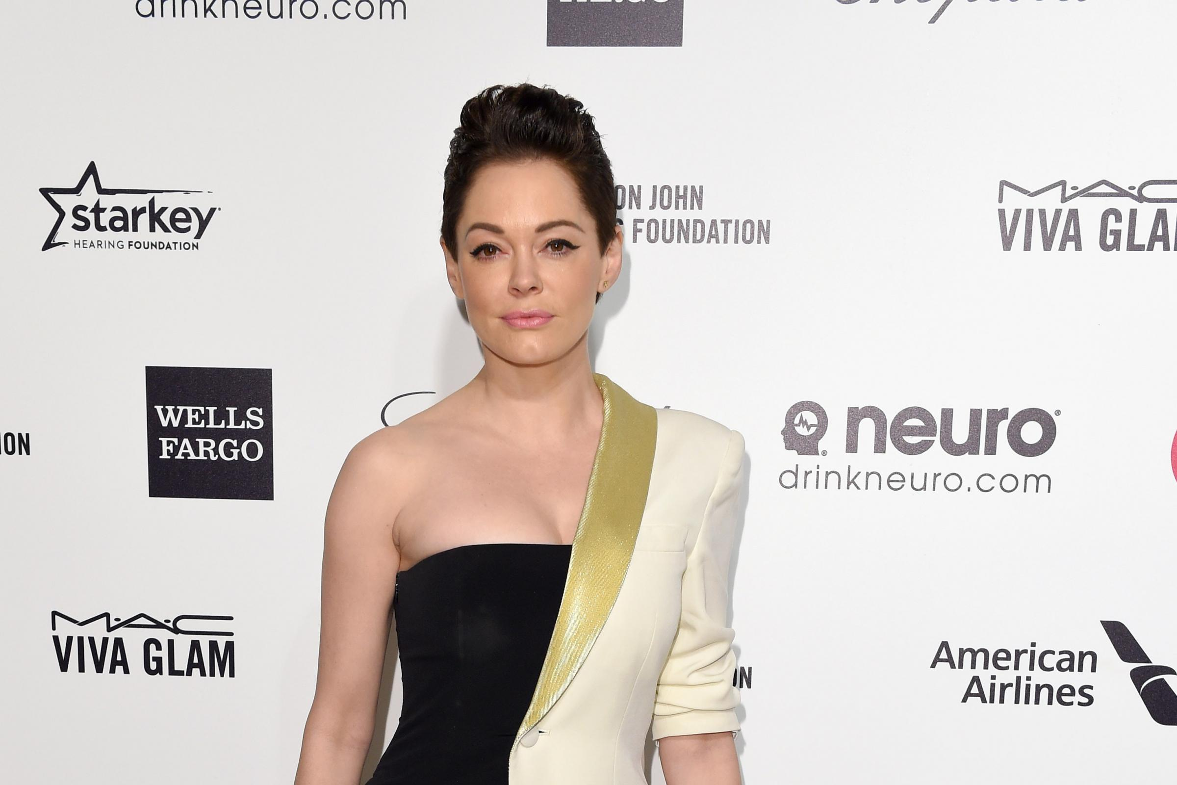 Hollywood actress Rose McGowan, who will receive the Inspiration Award at the GQ Men Of The Year Awards next month
