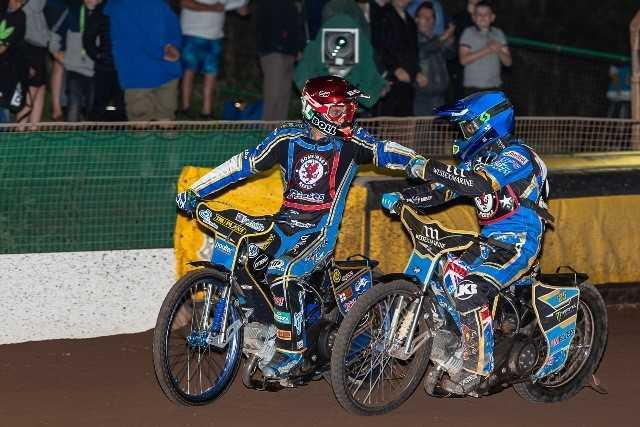 STAR MEN: Somerset Rebels' Jason Doyle and Jake Holder. Pic: Colin Burnett