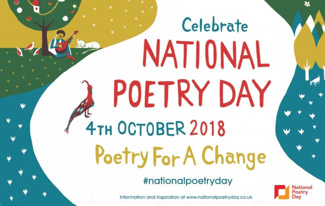 WHAT'S YOUR FAVOURITE? : Today is National Poetry Day!