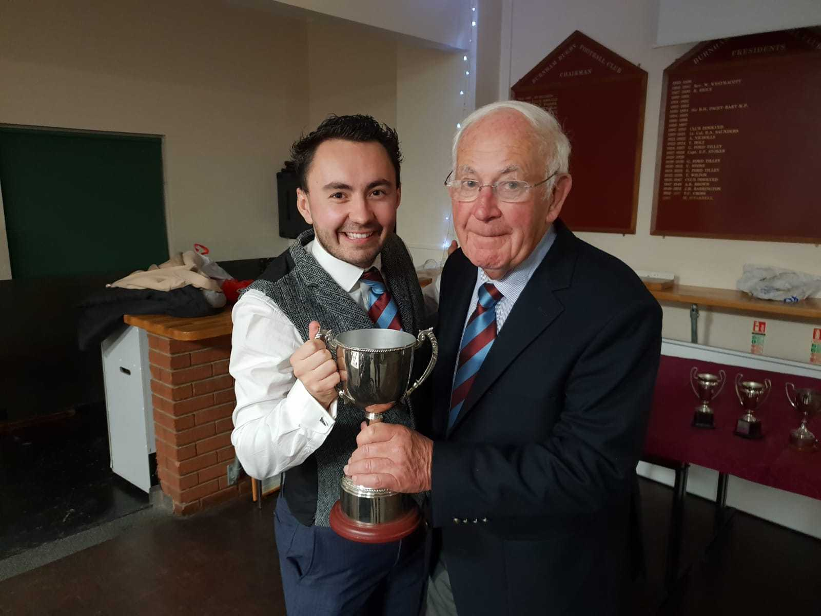 Ben Adams, second XI player of the year and clubman of the year
