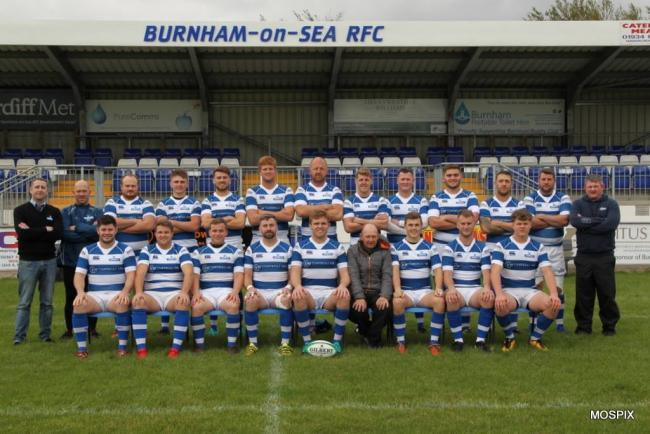 SQUAD: Burnham-on-Sea RFC's 1st XV. Pic: Mo Hunt