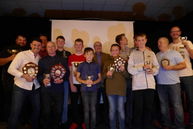 Huntspill Cricket Club award winners