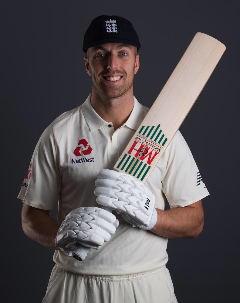 PICKED: Jack Leach has been selected by England to face Sri Lanka. Pic: Alex Davidson