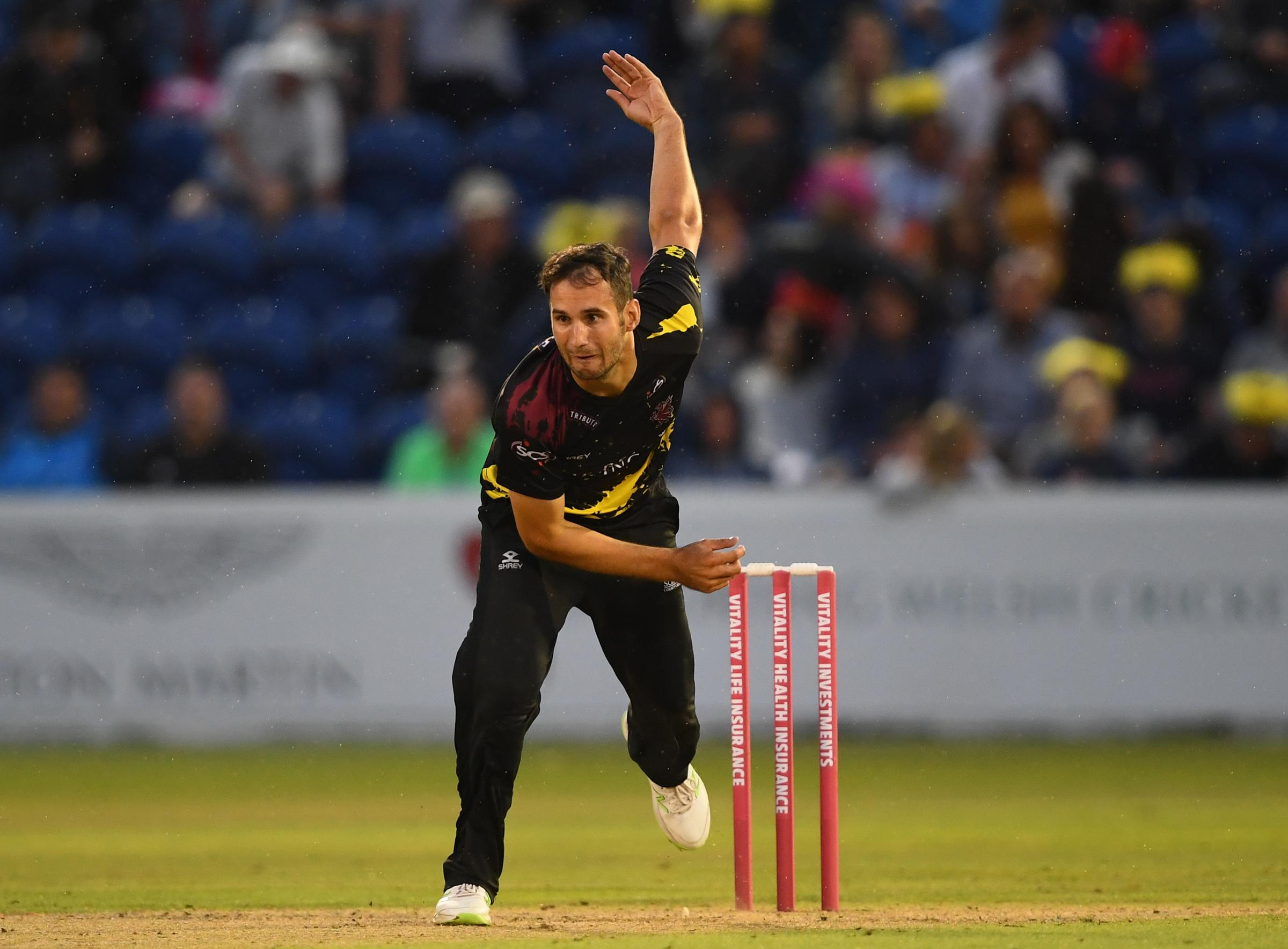 MISSING OUT: Lewis Gregory was among several Somerset players overlooked in the PSL auction. Pic: Alex Davidson/SCCC