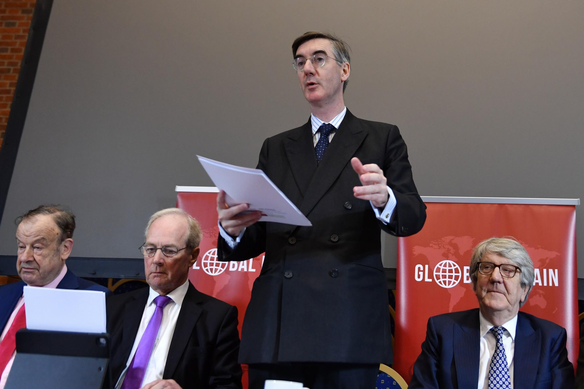 BIG SAY: Jacob Rees-Mogg and the ERG committee could frustrate the Prime Minister's efforts. PICTURE: John Stillwell/PA Wire