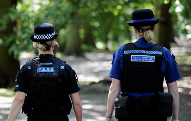 ROLES: PCSOs work alongside regular police officers