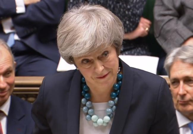 UNDER FIRE: Prime Minister Theresa May. PICTURE: PARBUL/PA Wire
