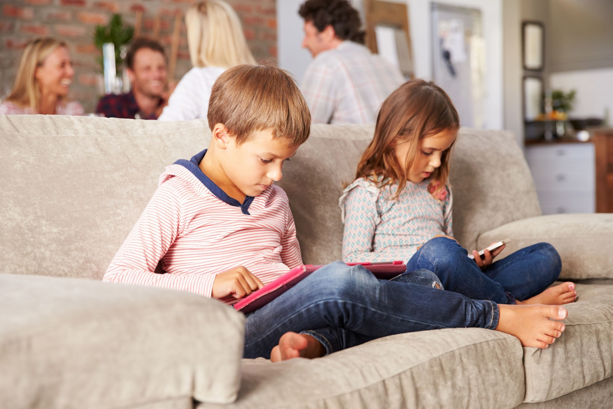 WARNING: Turn off children's gadgets an hour before bed, parents advised. PA Photo/thinkstockphotos.
