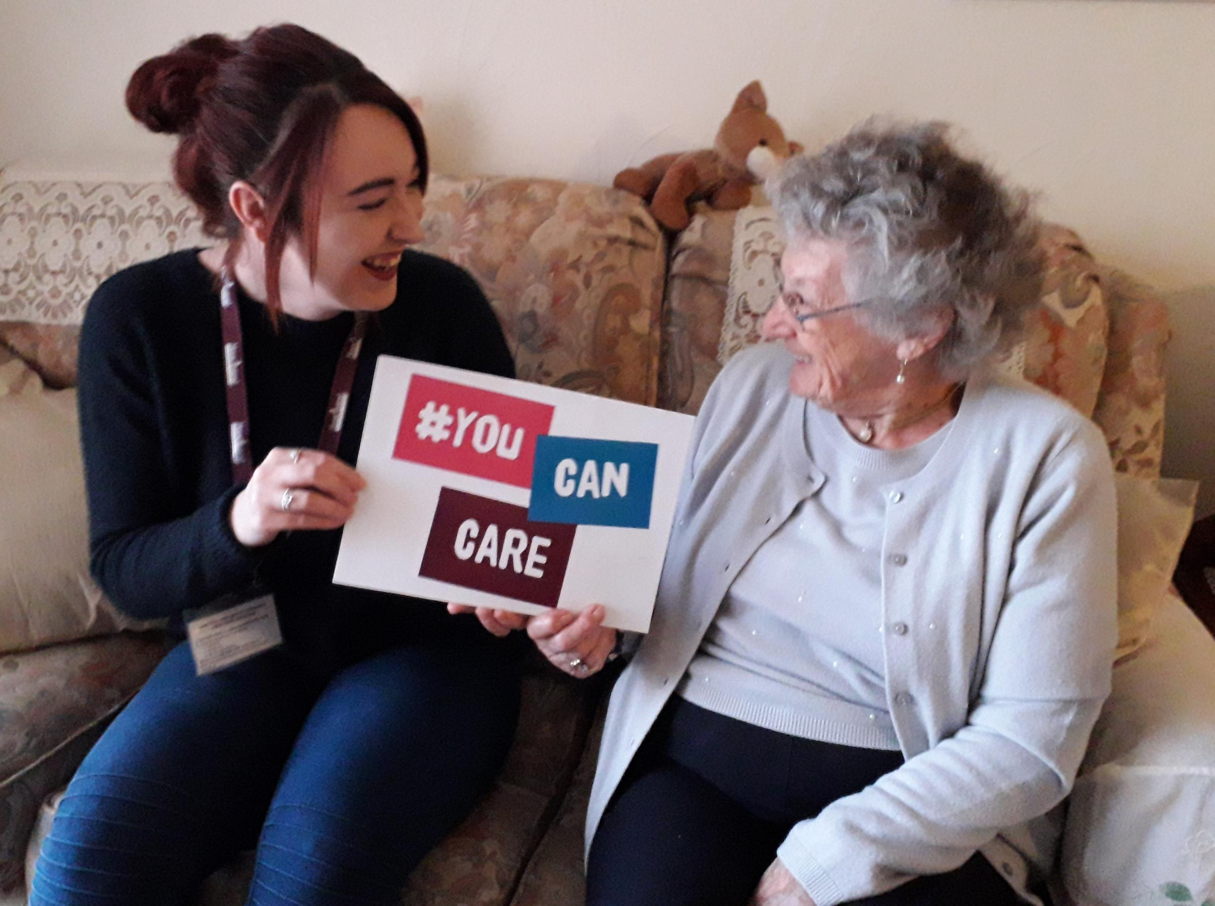CAMPAIGN: Home Instead Senior Care have relaunched their 'You Can Care' campaign