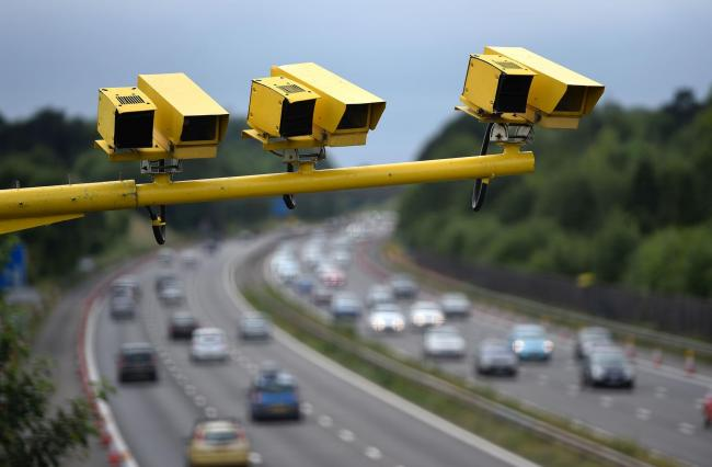 The police force to detect the most speeding offences in 2017/18 was Avon and Somerset with nearly 200,000. Credit: Andrew Matthews/PA Wire