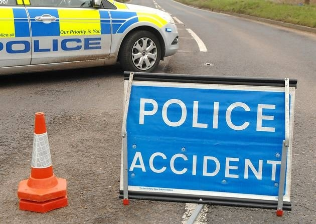 CRASH: Emergency services were called to reports of a car in a ditch near Wedmore