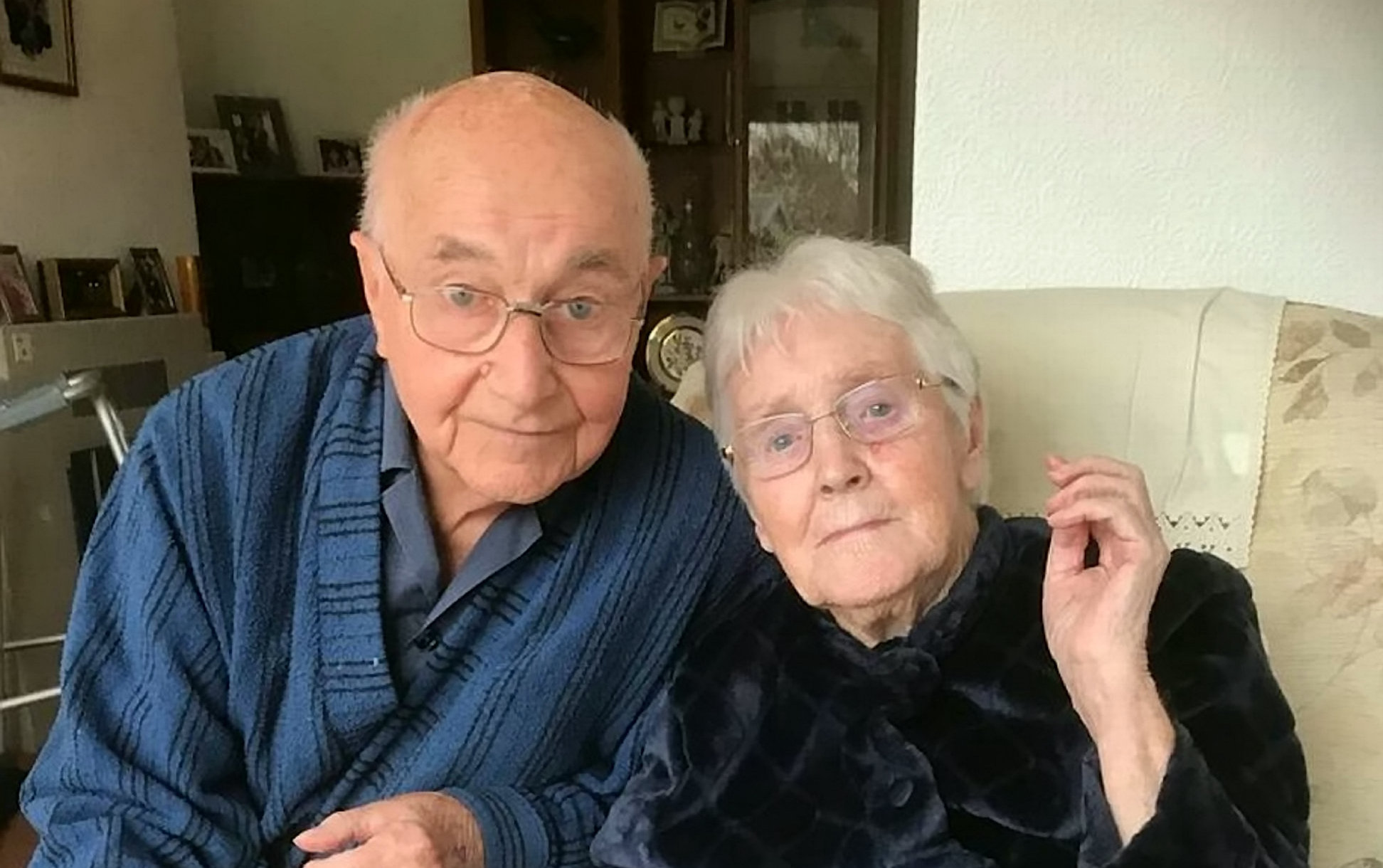 CHARGES: Derek Millett, 89, and wife Vera, 88
