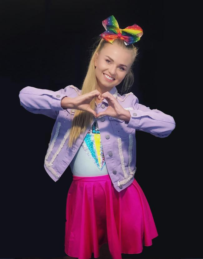 TRIBUTE: Xenna Kristian performs as JoJo Siwa at The Playhouse in Weston-super-mare on May 28 at 6pm