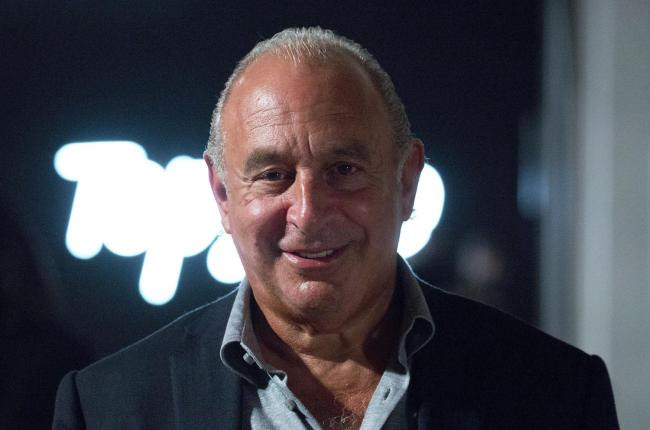 BUSINESS: Philip Green. PICTURE: Isabel Infantes/PA Wire