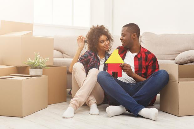 Burnham and Highbridge Weekly News: BUYING: A couple in the process of buying a new home. Picture: iStock/PA